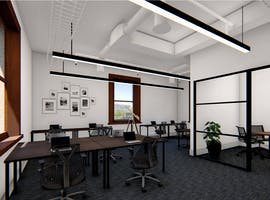 14 Person Office, private office at Hub Customs House, image 1