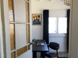 The Back Room, private office at ShareD. Mullum, image 1