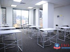Room Jupiter in Melbourne CBD, training room at Insight Academy Of Australia, image 1