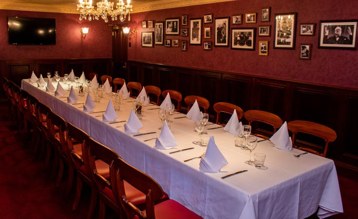 The Churchill Room, multi-use area at Pig n Whistle Eagle St, image 1