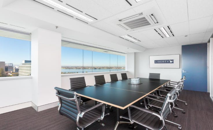 Sandpiper Boardroom, meeting room at Liberty Executive Offices - 37 St Georges Terrace, image 1