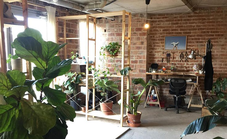 Work alongside other designers at this plant-filled studio in Chippendale, image 1