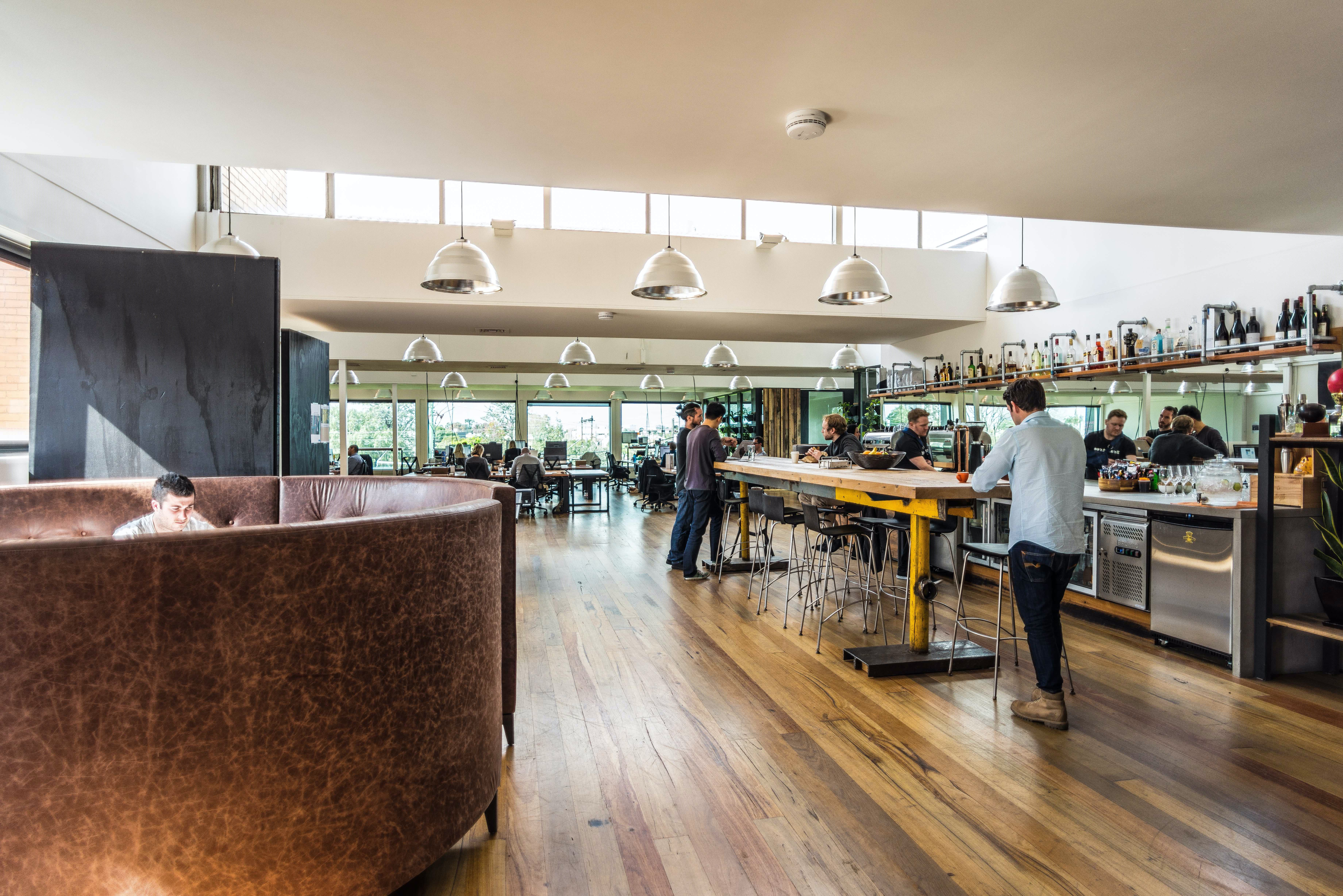Co-working at a sleek venue in Port Melbourne, image 1