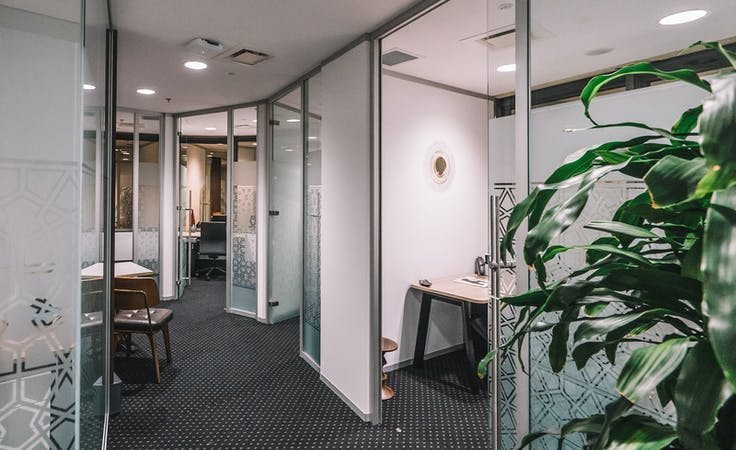 5 person private office with panoramic CBD views, serviced office at 10 Eagle Street, image 1