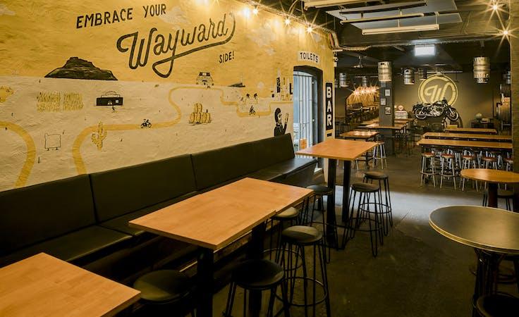 Wayward Cellar Bar, multi-use area at Wayward Brewing Co, image 3