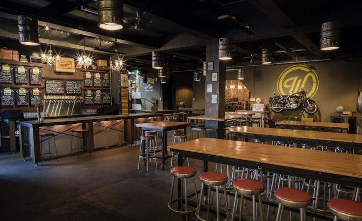 Wayward Cellar Bar, multi-use area at Wayward Brewing Co, image 1