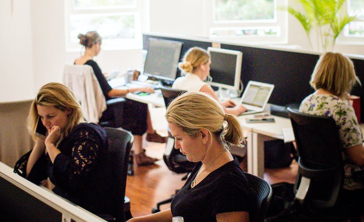 Hot desk at Beaches Coworking - Frenchs Forest, image 1