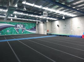 Gym with spring floors, multi-use area at Melbourne Cheer Academy, image 1