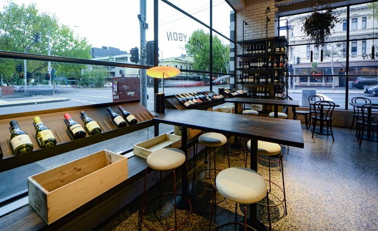 Lord Lygon Wine Bar, multi-use area at Lord Lygon, image 2