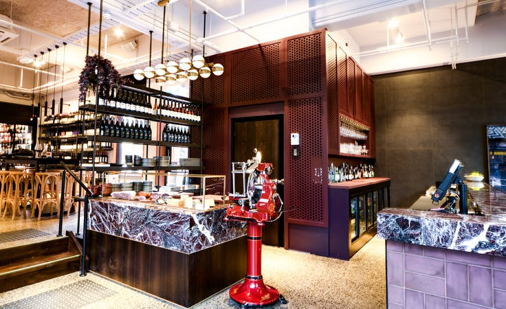 Upmarket wine bar offering a cosy function space, image 3