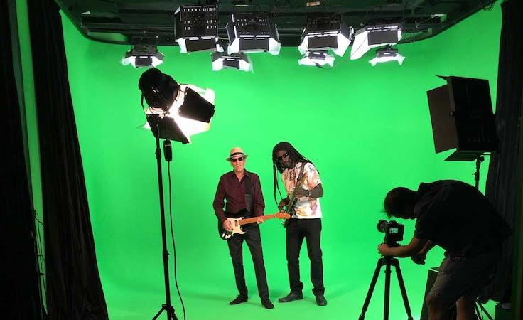 Soundproof Green Screen & Blackout Studio 5, creative studio at Sydney Props Photo Studios, image 1