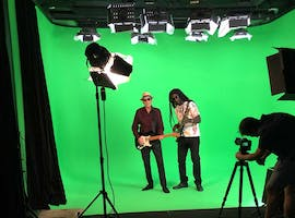 Soundproof Green Screen & Blackout Studio 5, creative studio at Sydney Props Photo Studios, image 1