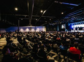 Auditorim, conference centre at Planetshakers Centre, image 1