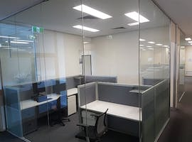 Various Straight Desks Available, dedicated desk at The Office Block., image 1