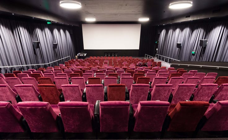 Cinema, multi-use area at Kambri at ANU, image 2