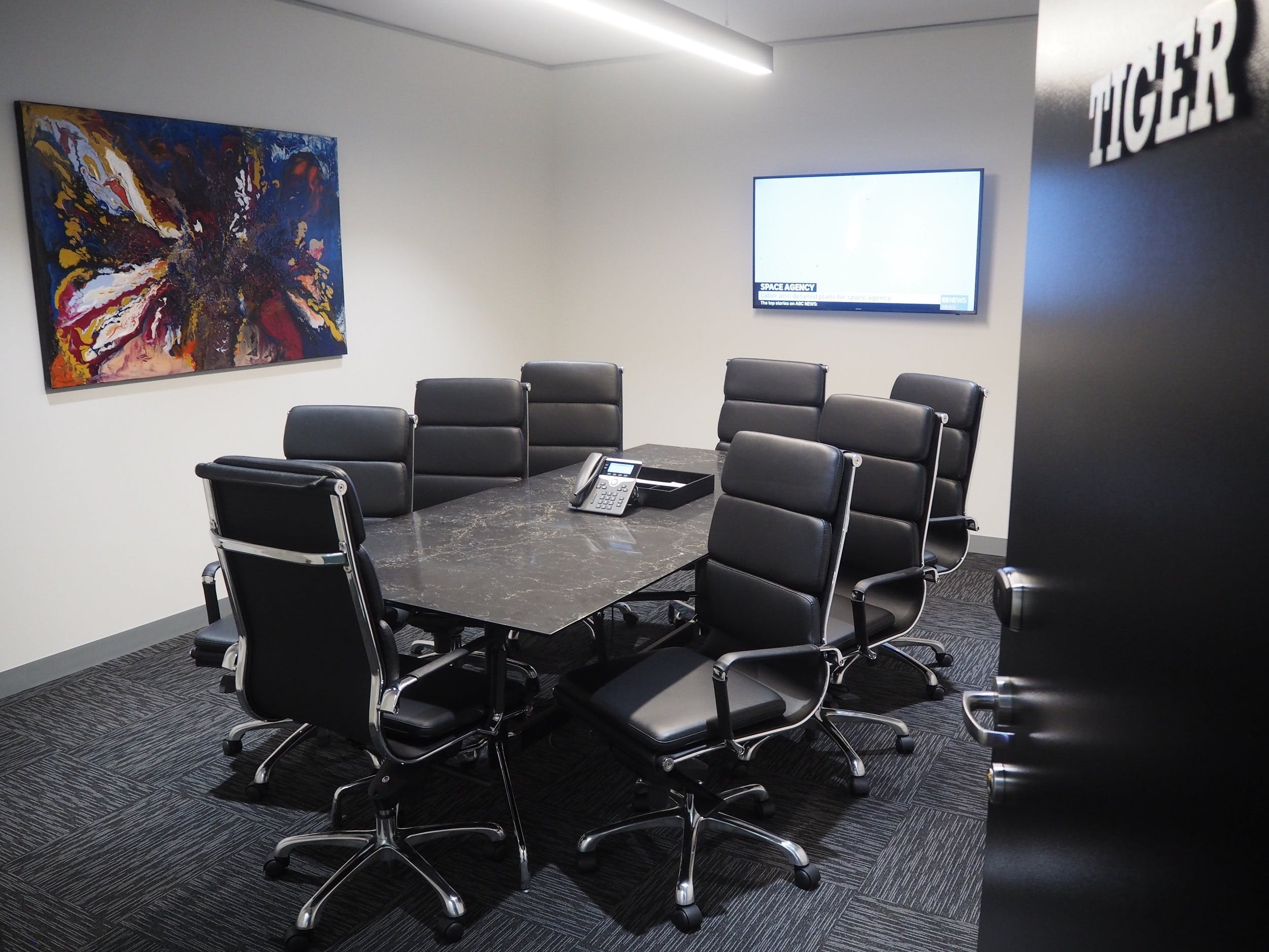 Tiger, meeting room at Victory Offices | Box Hill Meeting Rooms, image 1