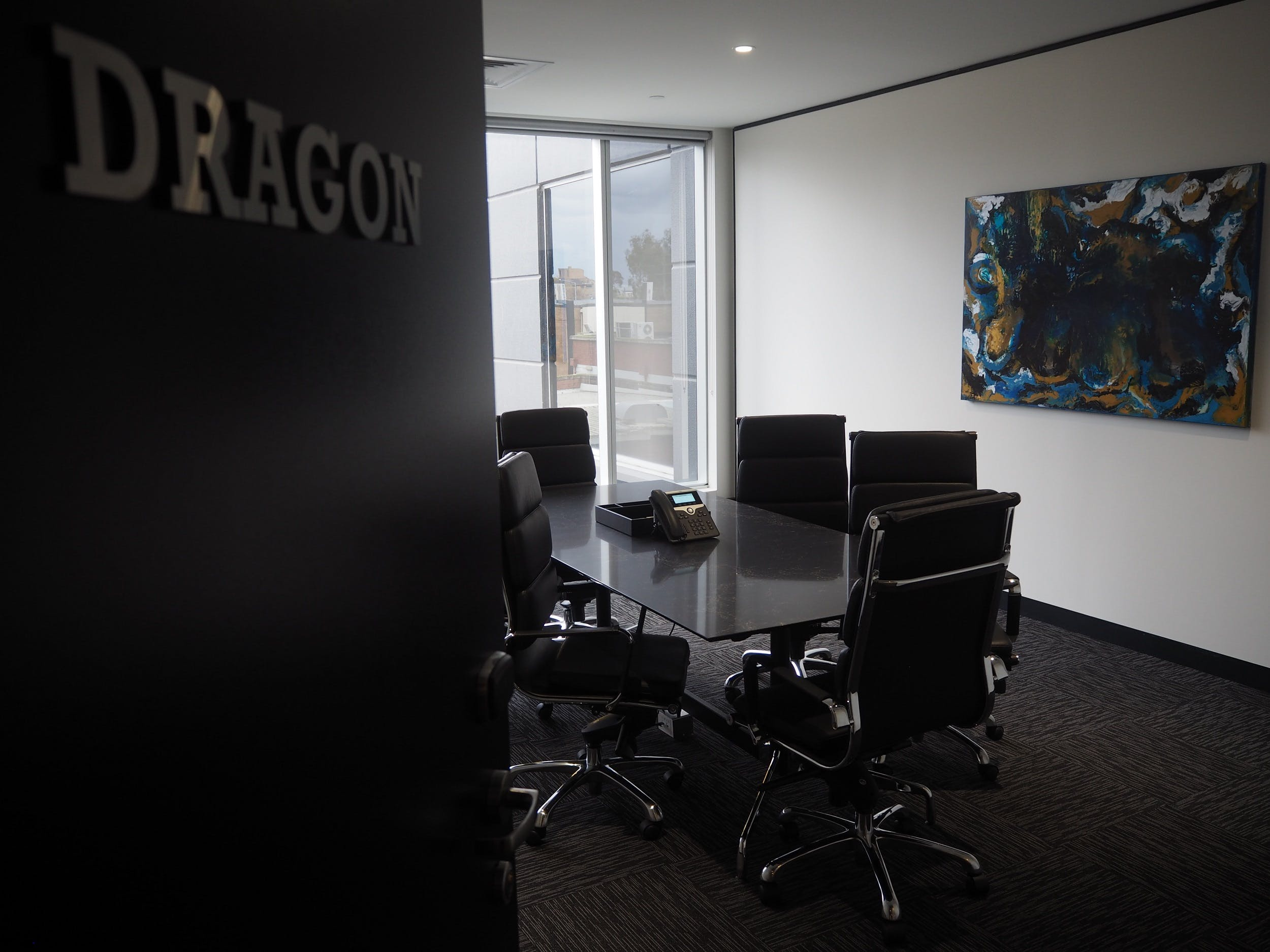 Dragon, meeting room at Victory Offices | Box Hill Meeting Rooms, image 1