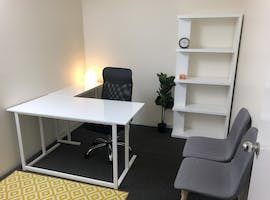 This co-working space is suited to health and wellness practitioners, private office at Upself Wellness Space, image 1