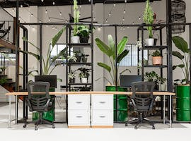 This shared office space is a plant lover's haven, image 1