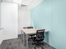Flexible workspace with dedicated desk in Regus 120 Collins Street, hot desk at Collins Street, image 1