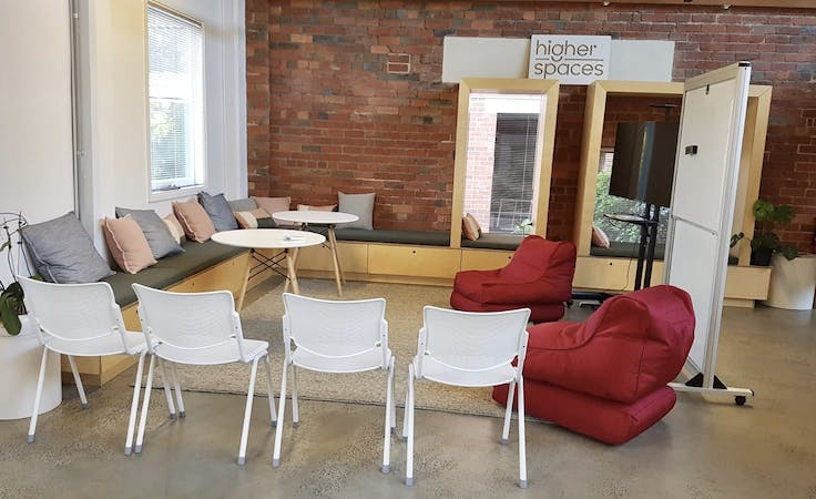 Lounge area, multi-use area at Higher Spaces, image 1