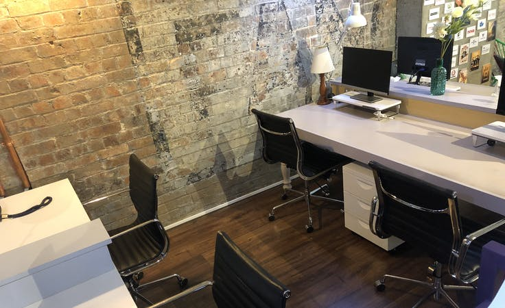 Dedicated desk at Creative open office space, image 1