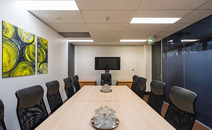 Your business Worlds Platinum Membership Regus , hot desk at 30 Cowper Street, image 1