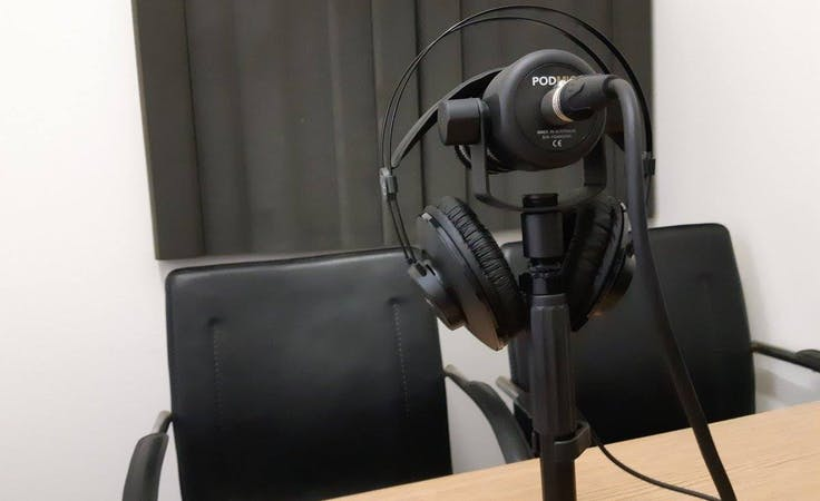 Creative studio at Bris Podcast Hub, image 2