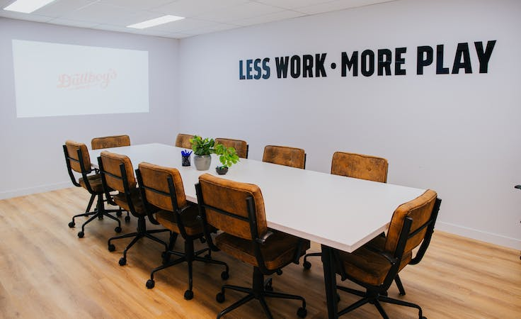 Dullboy's conference room, multi-use area at Dullboy's Social Co, image 2