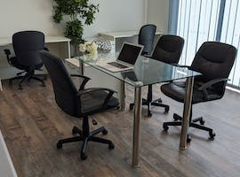 4 ppl park facing private office, serviced office at Brisbane Business Centre, image 1