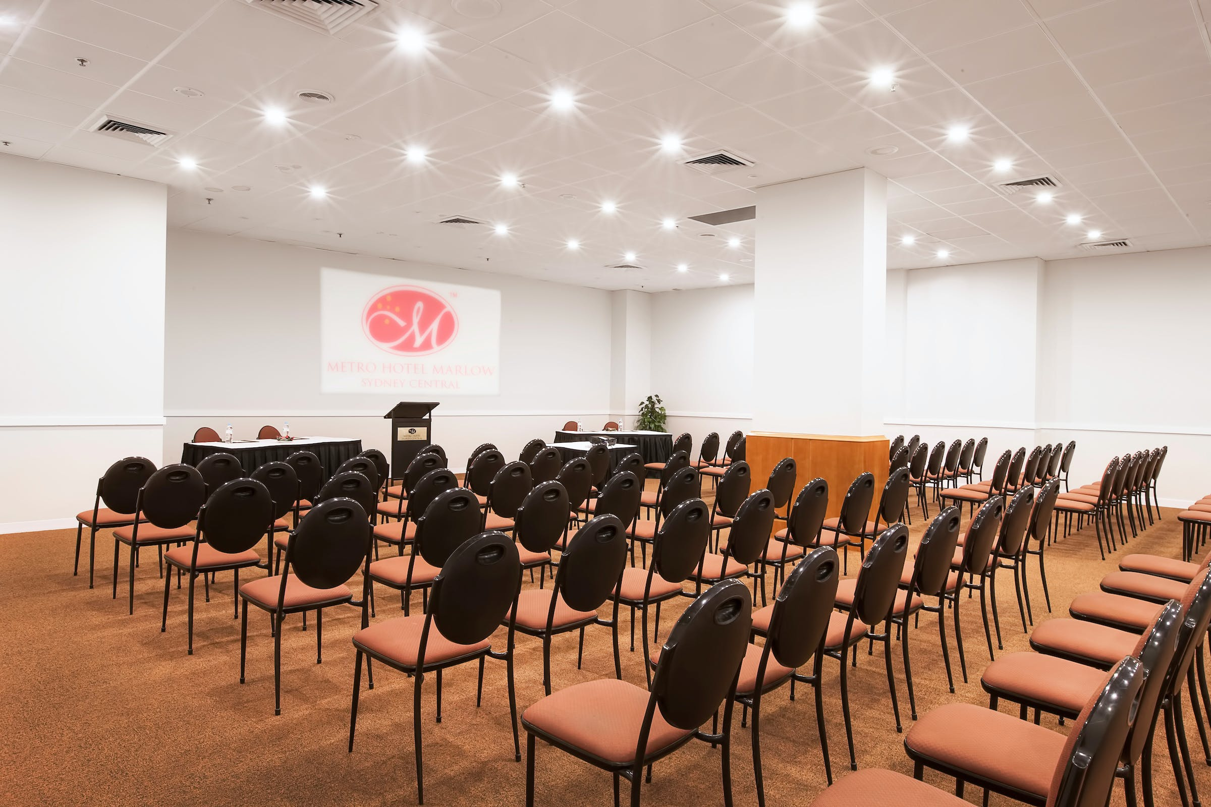 Function room at Metro Hotel Marlow Sydney Central, image 1