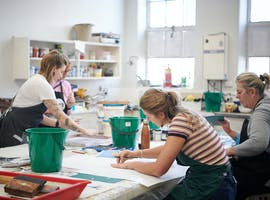 PRINTMAKING STUDIO | MIDLAND JUNCTION ARTS CENTRE, creative studio at Midland Junction Arts Centre, image 1