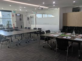 Training Room With Set Up, training room at ADIA, image 1