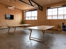 Dedicated desk at a light-filled, first-floor Collingwood studio, image 1