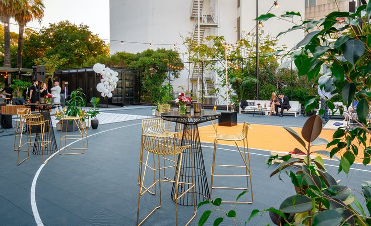 Rooftop Deck, multi-use area at Donnie Taco, image 1