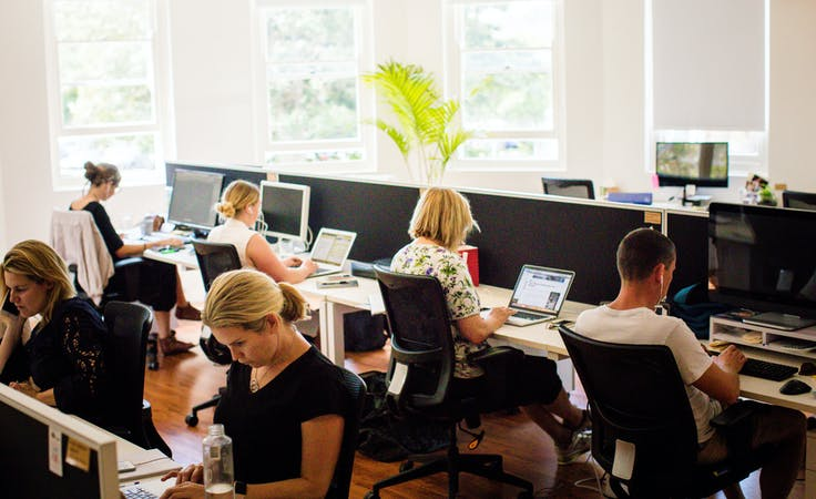 8 Person office, serviced office at Beaches Coworking - Mona Vale, image 1