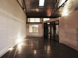 Contemporary studio space located in a Footscray warehouse, image 1