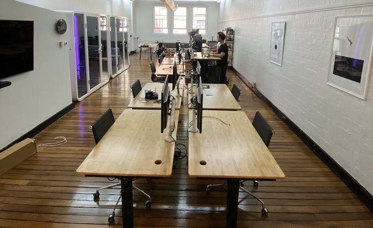 4 Dedicated Desks, shared office at Shared creative space in Sydney CBD, image 1