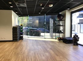Training room at Yoga / Pilates studio for rent in Hawthorn, image 1