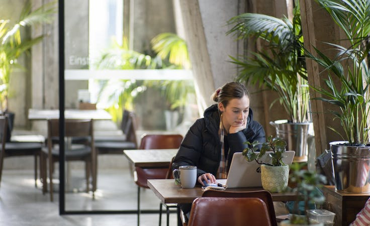 Flexi Services, hot desk at The Cluster, image 1