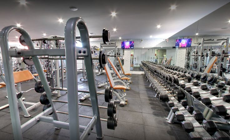 Training room at 24/7 Gym, image 1