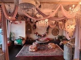 Boho Lounge Area , multi-use area at Mezzanine 55, image 1