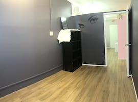 Lash / beauty room, private office at Maiden Belle Makeup & Design Studio, image 1