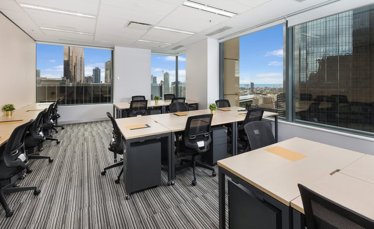 A wide variety of light filled offices available | 459 Collins Street | Prestigious Address, private office at Compass Offices 459 Collins Street, image 1