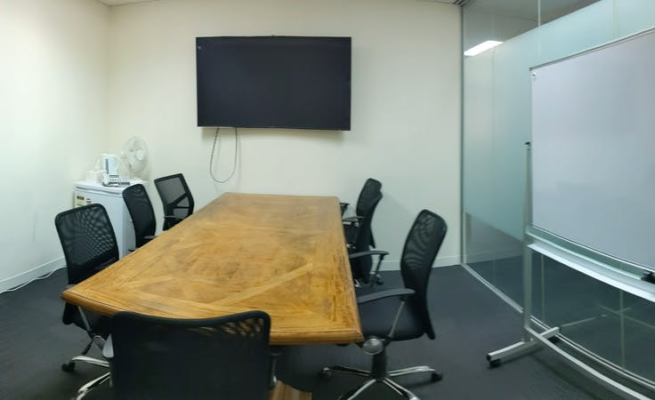 Boardroom, serviced office at Irwin Chambers, image 1