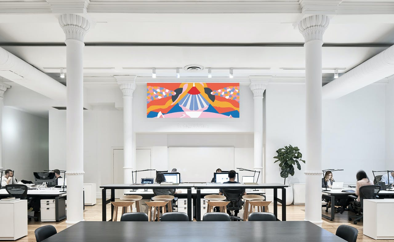 Premium workstations available in beautiful creative space, image 1