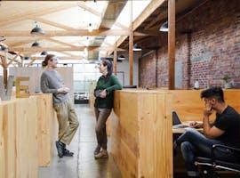 Full-Time Hot Desks, hot desk at The Hive Collingwood, image 1