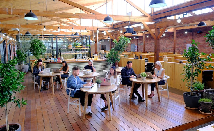 Hot Desks, coworking at The Hive Collingwood, image 1